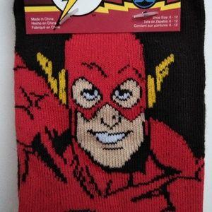 Mens Socks (4 Pair) Flash, Snoopy, Stars&Stripes